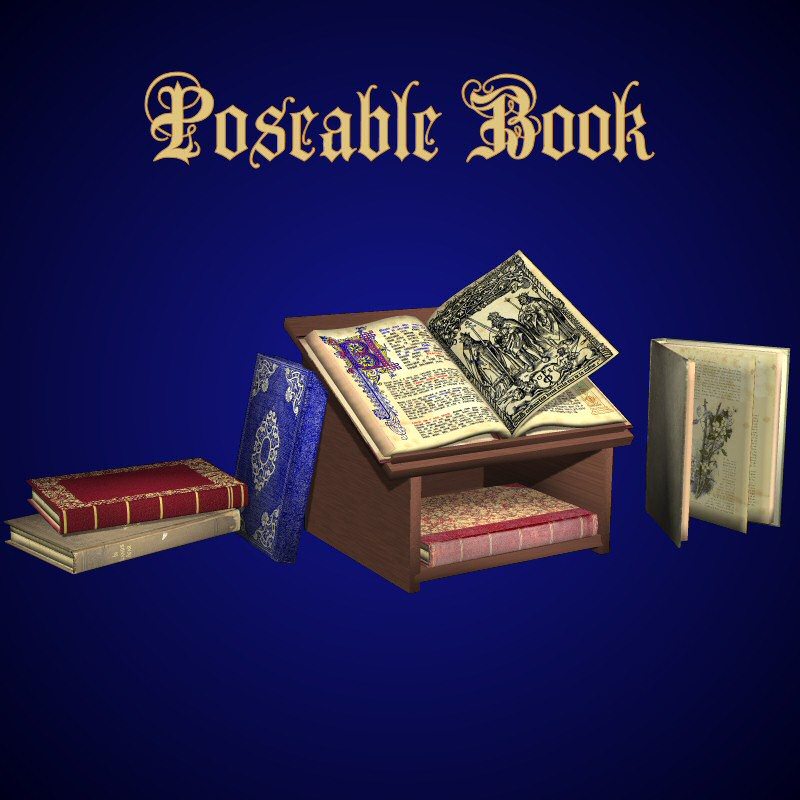 Poseable Book