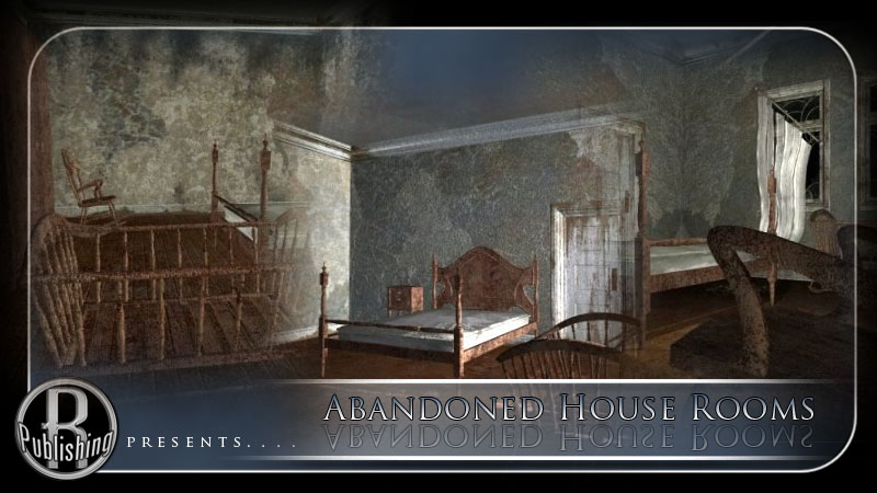 Abandoned House Rooms (Poser & Vue)