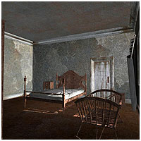 Abandoned House Rooms (Poser & Vue) Themed Props/Scenes/Architecture RPublishing