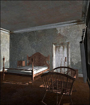Abandoned House Rooms (Poser & Vue) 3D Models RPublishing
