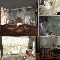 Abandoned House Rooms (Poser & Vue) image 6