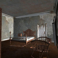 Abandoned House Rooms (Poser & Vue) image 1