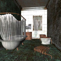 Abandoned House Rooms (Poser & Vue) image 2