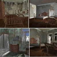 Abandoned House Rooms (Poser & Vue) image 3
