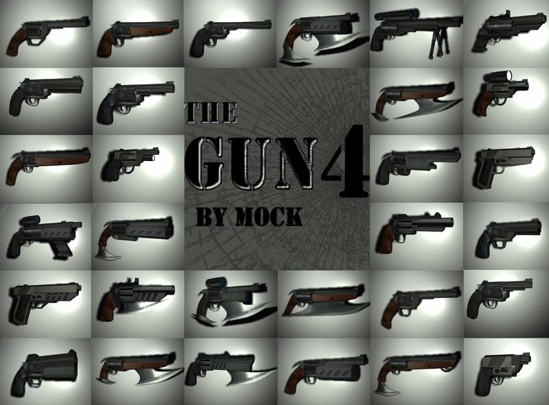 The Gun4 by Mock