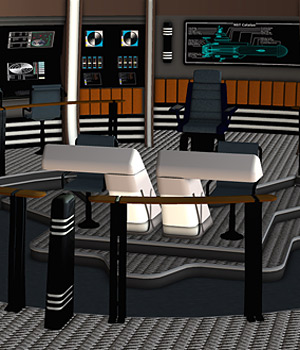 Starship Bridge 1, 2 & 3 Props/Scenes/Architecture Themed Software RPublishing