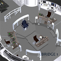 Starship Bridge 1, 2 and 3 image 1