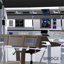 Starship Bridge 1, 2 and 3 image 2
