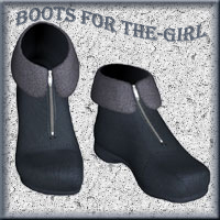 Boots For The-Girl  Elke