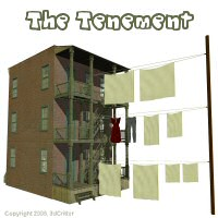 The Tenement 3D Models 3dCritter