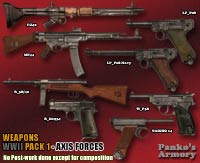 WWII Weapons -Pack 2_Axis Forces image 1