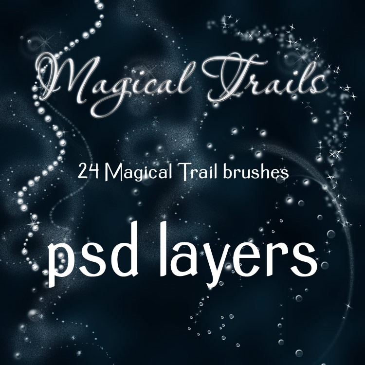 Magical Trails - PSD files by antje
