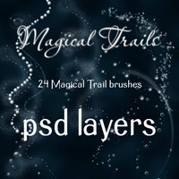 Magical Trails - PSD files 2D Graphics 3D Models antje