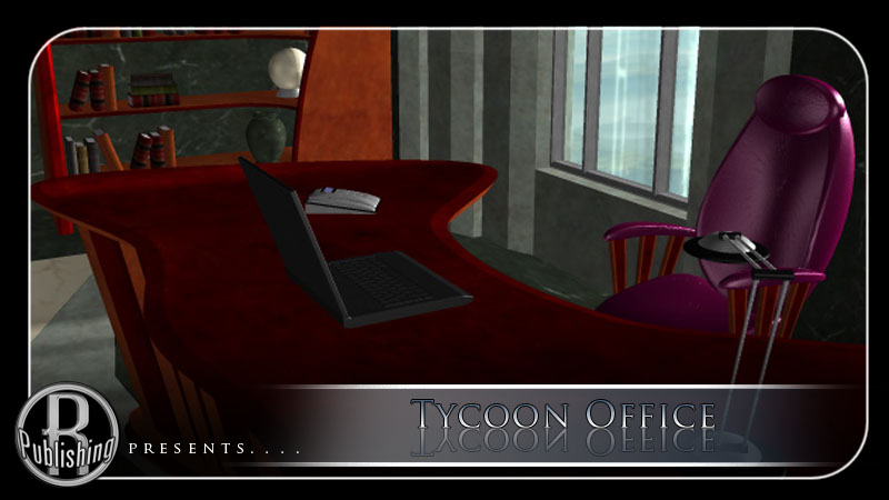 Tycoon Office (Poser & OBJ)