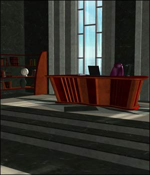 Tycoon Office (Poser & OBJ) 3D Models RPublishing
