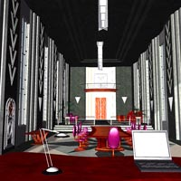 Tycoon Office (Poser & OBJ) image 6