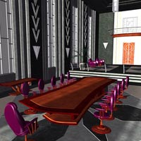 Tycoon Office (Poser & OBJ) image 7