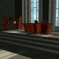 Tycoon Office (Poser & OBJ) image 1