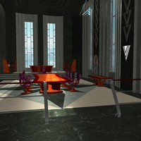 Tycoon Office (Poser & OBJ) image 3