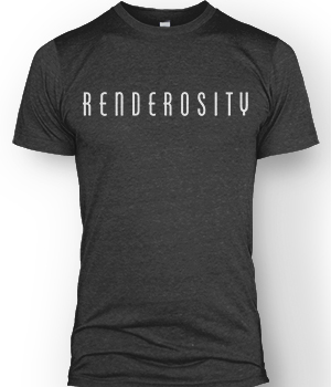 Renderosity T-shirt Services/Rosity Stuff Store Staff