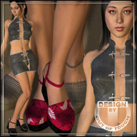 �Sandals Selection� New Textures for Platform Sandals for Miki by idler168  outoftouch