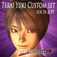 TY2 Custom Set 3D Figure Assets billy-t