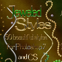 Jeweled Styles - PS7-CS 2D Graphics 3D Models antje