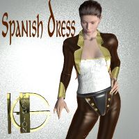 Spanish Dress  dolphing