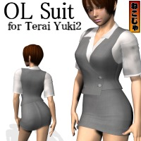 OL Suit for Terai Yuki2 3D Figure Essentials nekoja