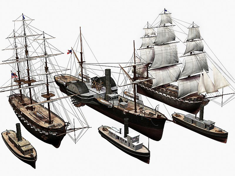 Ships Of The US Civil War