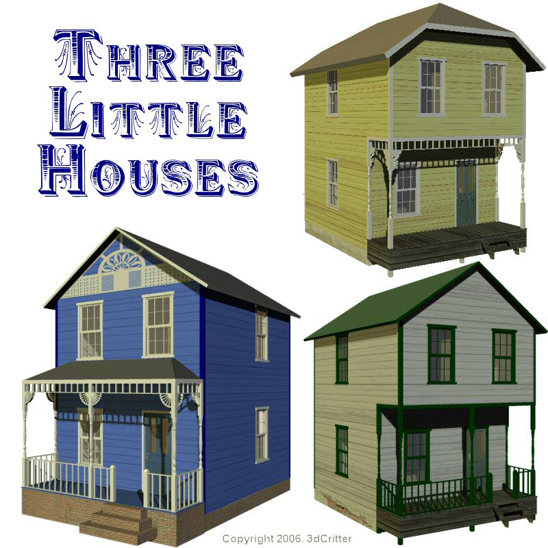 Three Little Houses