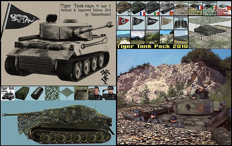 Tiger Tank package 2010