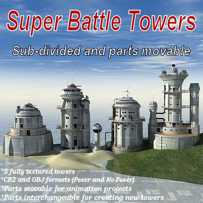 Super Battle Towers