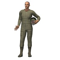Jump Suit (M3) 3D Models 3D Figure Essentials mrsparky