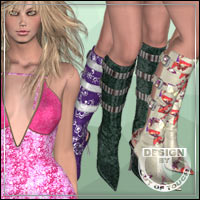�Vogue� Textures for Belt Boots for V3 by ilder168  outoftouch