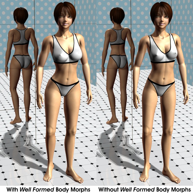 Well Formed: Body Morphs for Terai Yuki 2