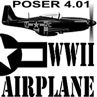 WW II AIRPLANE PACKAGE (Poser 4.01 version)  thunderr