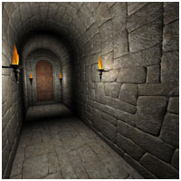 Dark Corridors for Poser 3D Models RPublishing
