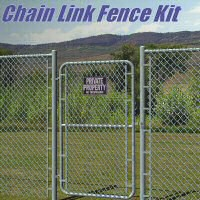 Chain Link Fence Kit 3D Models 3dCritter