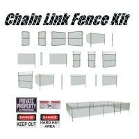 Chain Link Fence Kit image 1