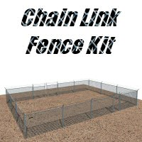 Chain Link Fence Kit image 3