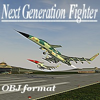 F-40NG Fighter obj  vbarreto