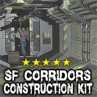 SF CORRIDORS Construction Kit 3D Models coflek-gnorg