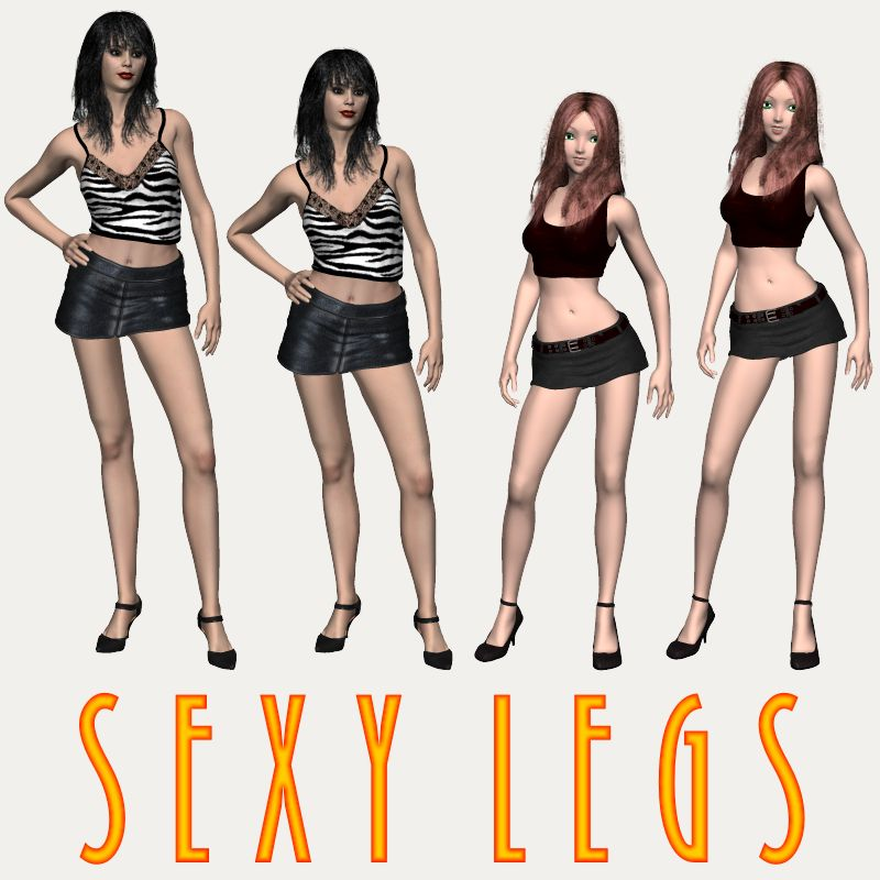 Sexy Legs by Dimension3D