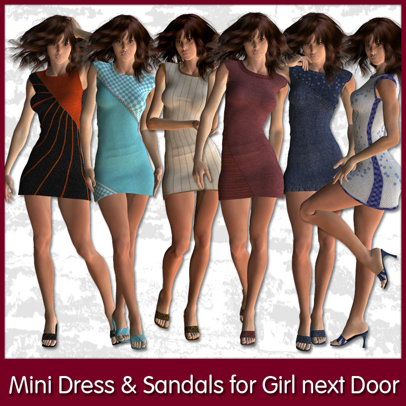 Mini Dress and Sandals for GND2