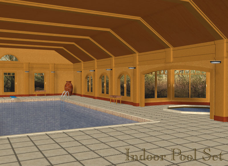 Indoor Pool Set