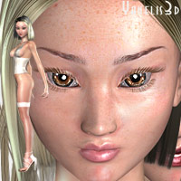 Tsukushi A3 (Character and Hair Only)  Yanelis3D