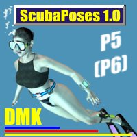 Scubaposes 1.0 3D Figure Essentials kruse