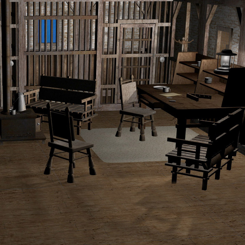 Wild West Set 3 - The Sheriff's Office Themed mapps