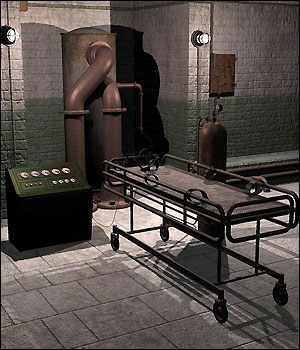 Eerie Asylum (Poser and Vue) 3D Models RPublishing